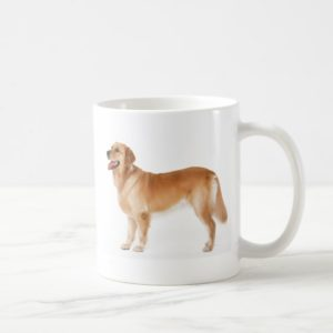 Alert Golden Retriever Coffee Mug