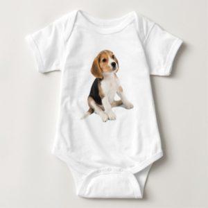 Beagle Puppy Baby Bodysuit