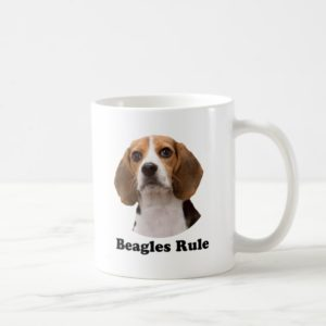 Beagles Rule Coffee Mug