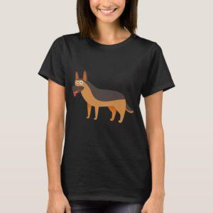 Big Cute German Shepherd T-Shirt