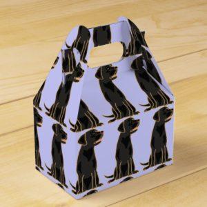 Black Labrador Retriever Gift Box