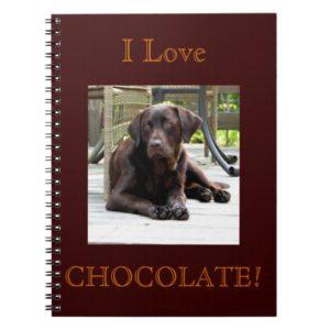 Chocolate Lab Notebook