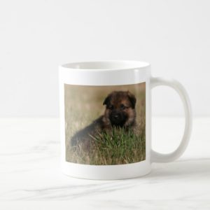 "German Shepherd Puppy ""The Lookout"" Coffee Mug"