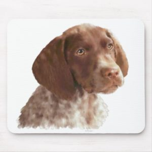German Shorthair Puppy Mouse Pad
