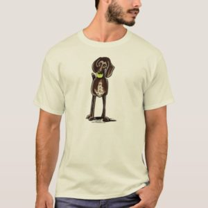 German Shorthaired Pointer Playtime T-Shirt