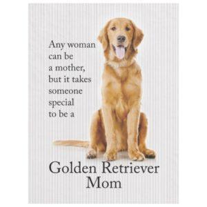 Golden Mom Fleece Blanket