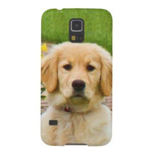 Golden Retriever Dog Case For Galaxy S5