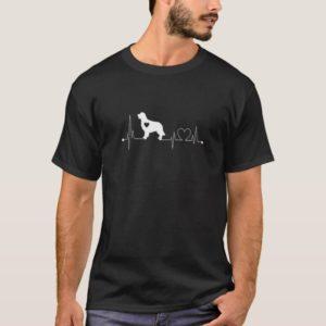 Golden Retriever Heartbeat T-Shirt Golden Retrieve