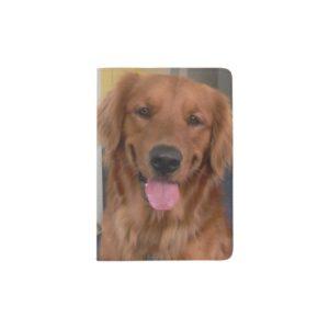 Golden Retriever Passport Holder