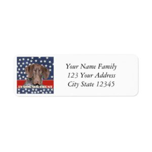 Grizzly4President, In Dog We Trust Label