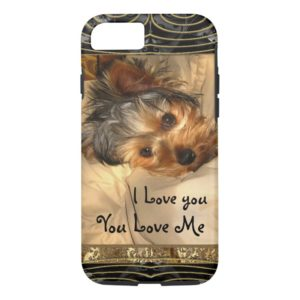 I Love You Yorkie VII Case-Mate iPhone Case