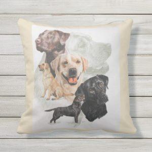Labrador Retriever Pillow