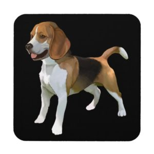 Set of 6 Beagle Coasters