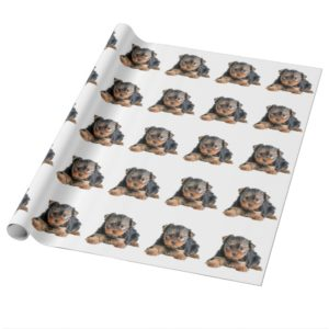 Yorkshire Terrier Puppy Wrapping Paper