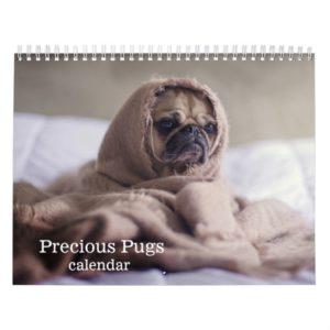 2019 Precious Pugs Calendar