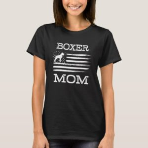 Boxer Mom womens Shirt Dog Mom T-shirt