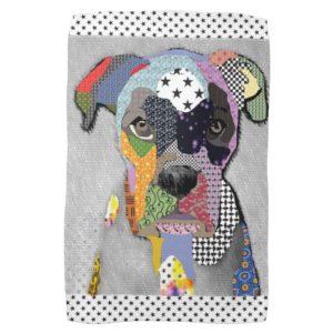 Boxer Portrait Towel