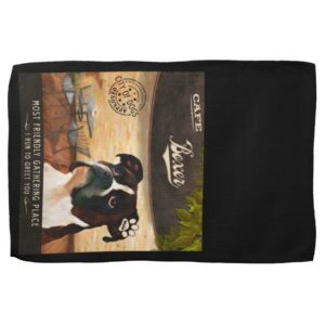 Cafe Boxer Kitchen Towel