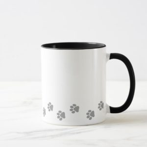 Cartoon Australian Shepherd (blue merle) Mug