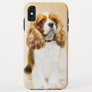 Cavalier King Charles Spaniel Original Painting Case-Mate iPhone Case
