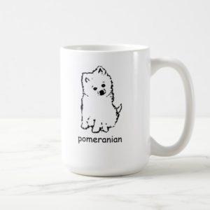coffee mug pomeranian