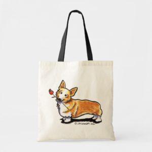 Corgi Sweetheart Tote Bag