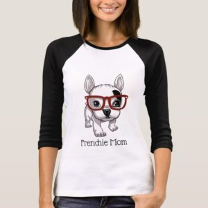Cute Cartoon Frenchie Mom T-Shirt
