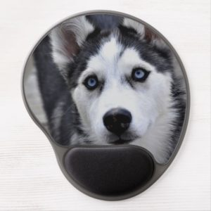 Cute Husky Gel Mouse Pad