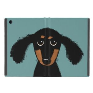 Cute Long Haired Dachshund Puppy iPad Mini Cover