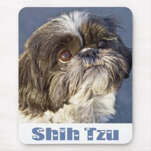 Cute Shih Tzu Lover Puppy Dog Mom Shihtzu Mouse Pad