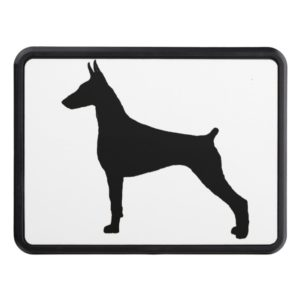 doberman pinscher silo black.png hitch cover