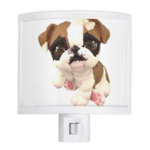 English Bulldog Night Light