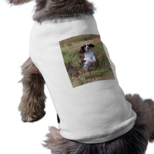 English Springer Spaniel springing Shirt