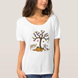Fall Siberian Husky T-shirt