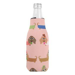 Funny Dachshunds Bottle Cooler