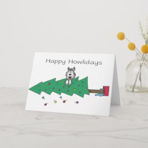 Happy Howlidays Holiday Card