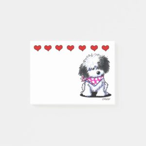 Havanese Sweetheart Post-it Notes