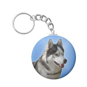Husky Keychain Siberian Husky Malamute Dog Gifts