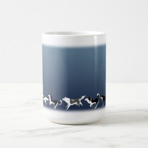 Husky Mug Coffee Cup Siberian Husky Sled Dog Cups