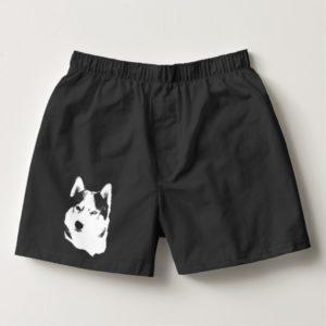 Husky Underwear Men's Siberian Husky Boxer Shorts