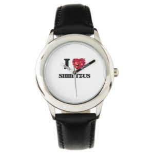 I love Shih Tzus Wrist Watch