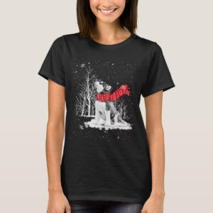 I Loves My Siberian Husky Christmas T-Shirt