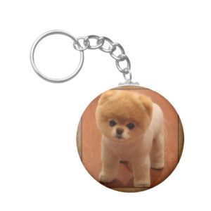 Pomeranian Dog Pet Puppy Small Adorable baby Keychain