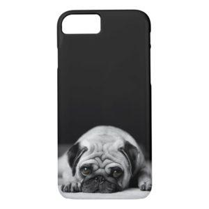 Sad Pug Case-Mate iPhone Case