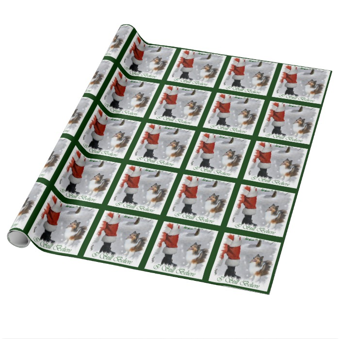 Sheltie Gift Wrapping Paper
