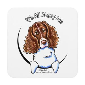 Springer Spaniel IAAM Beverage Coaster