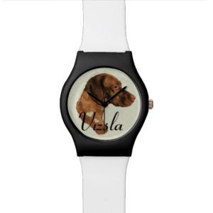 Vizsla Art Gifts Watch