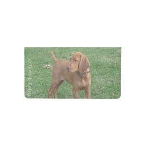 Vizsla Checkbook Cover