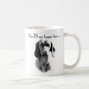 Vizsla Happy Face Coffee Mug