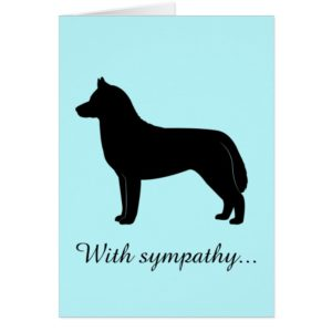With Sympathy: Loss of a Siberian Husky